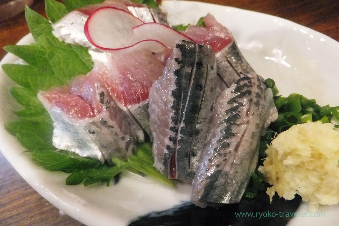 Sardine sashimi, Funakko (Higashi Funabashi)