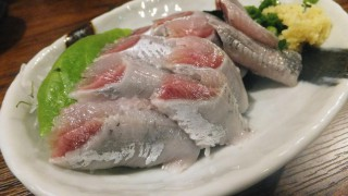 Higashi-Funabashi : Sardine at Funakko after cold lemon ramen
