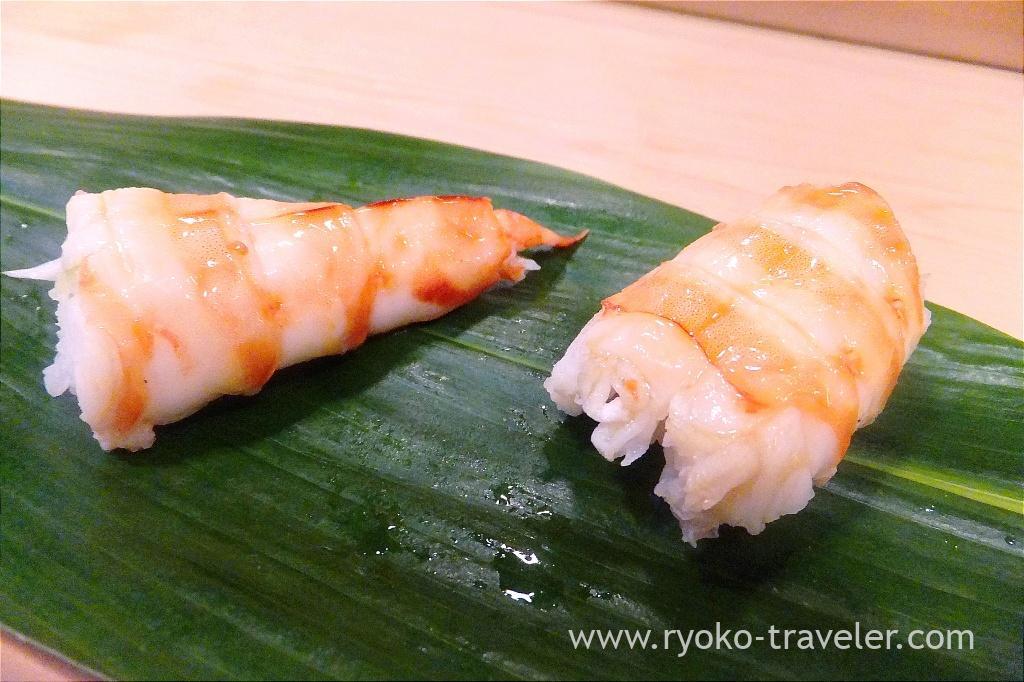 Shrimp, Okeisushi (Omotesando)