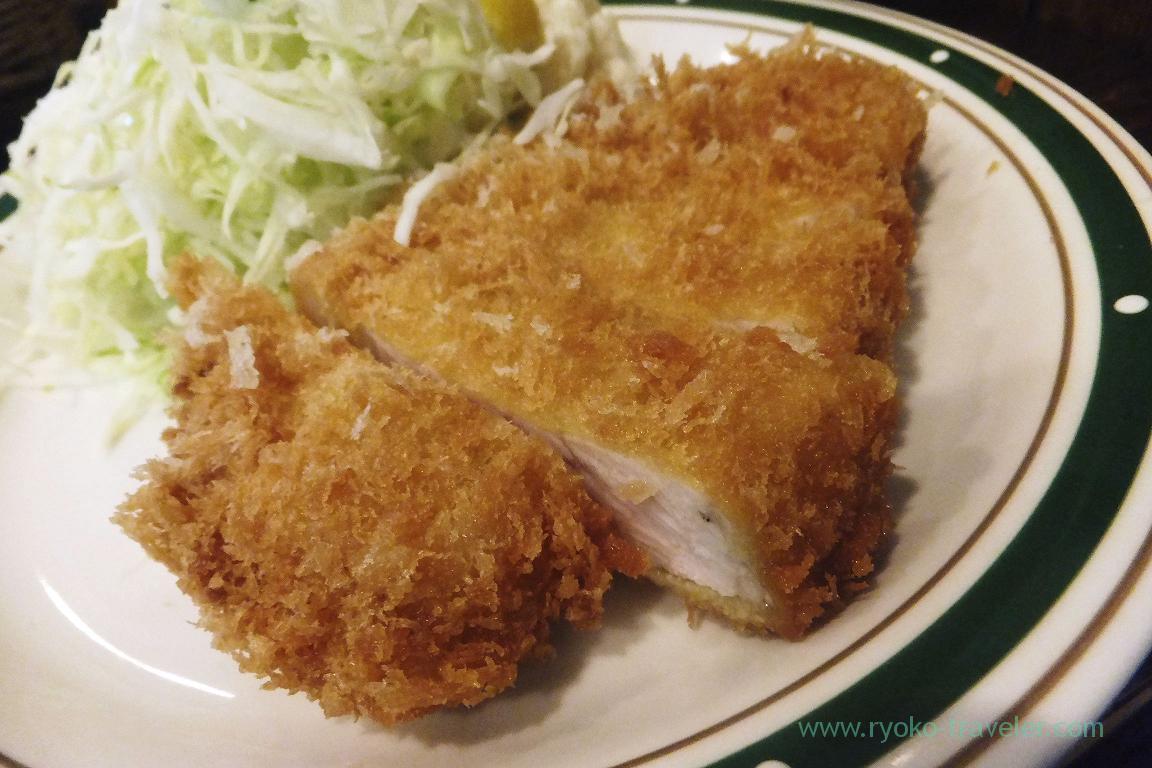 Superior Mochibuta pork sirloin cutlet, Cutlet Yoshoku Takeda (Yotsuya)