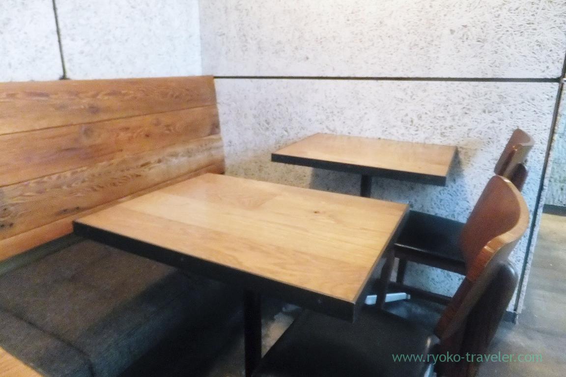 Table, Monz Cafe (Monzen-nakacho)