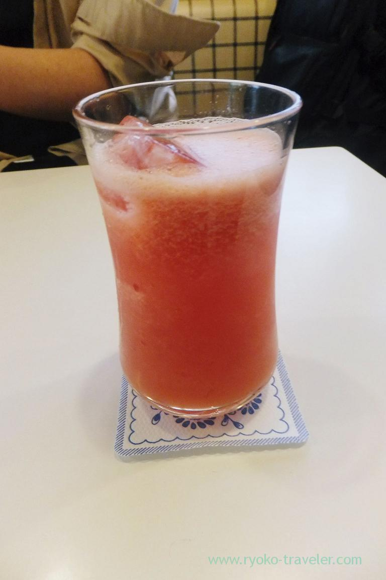 Watermelon juice, Fukunaga Fruits Parlor (Yotsuya-Sanchome)