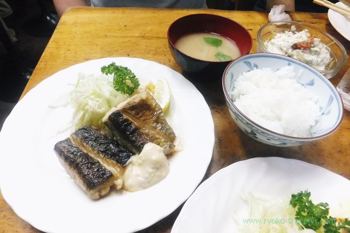 Young Spanish mackerel set, Odayasu (Tsukiji market)