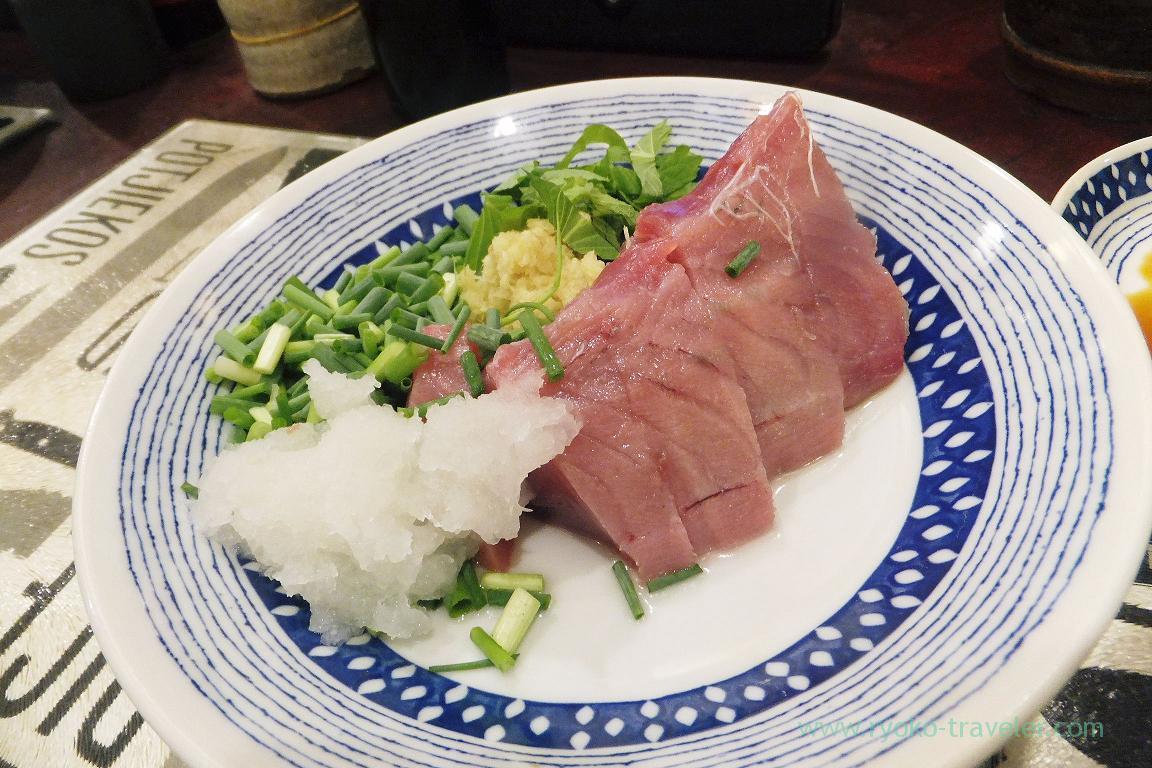 Bonito sashimi, Yonehana (Tsukiji market)