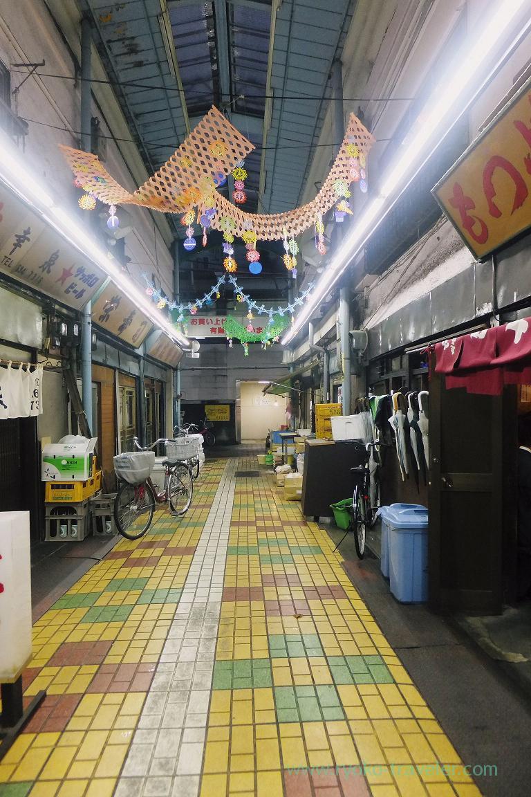In front of Uchida 1, Keisei-tateishi shopping street (Keisei-Tateishi)