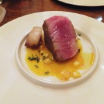 Kiyosumi-Shirakawa : Saury, Mangalitsa pork at il tram