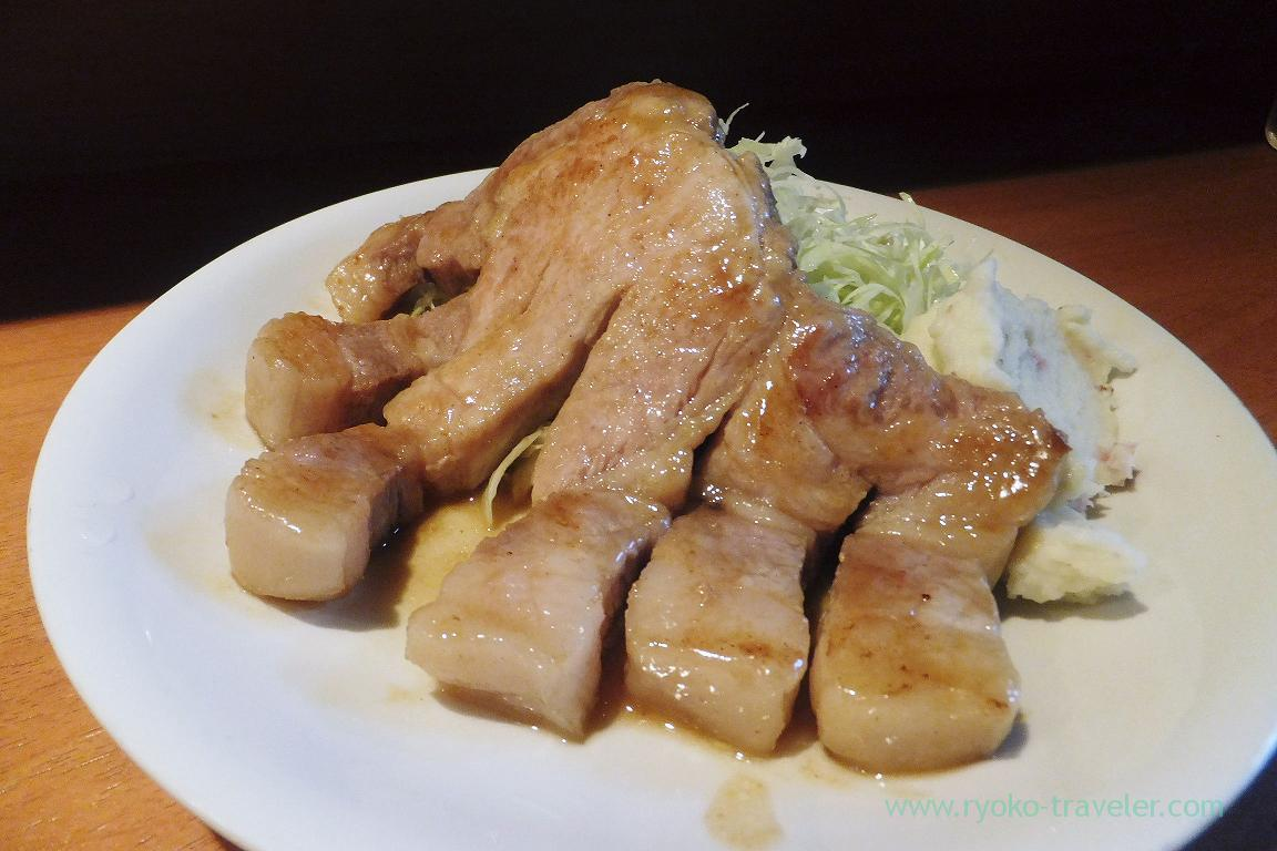 Sauted pork, Dining bar Gracia (Asakusabashi)
