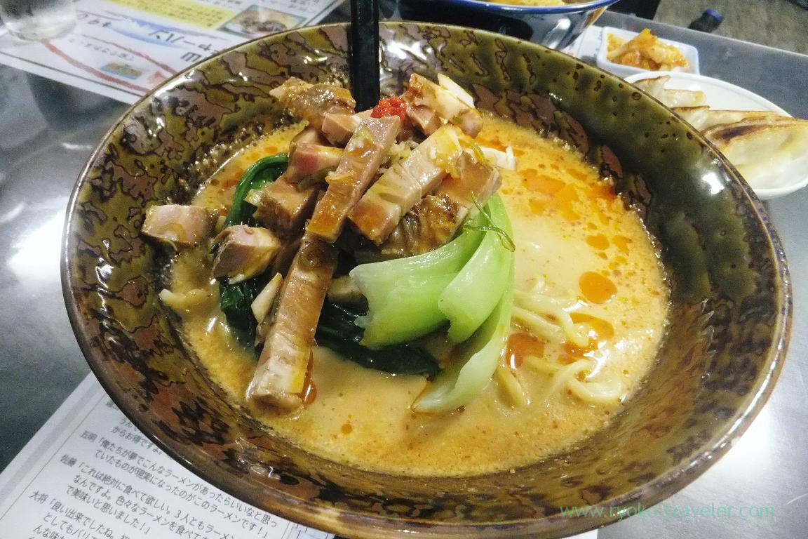 Tantanmen noodles, Chinese foods HOYO (Makuhari)