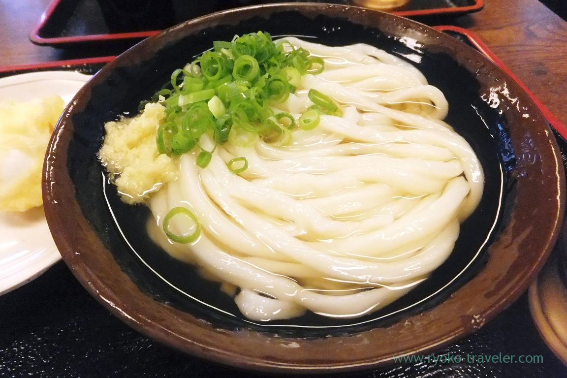 Hiyakake, Teuchi udon baka ichidai, Hanazono(Takamatsu 2015)