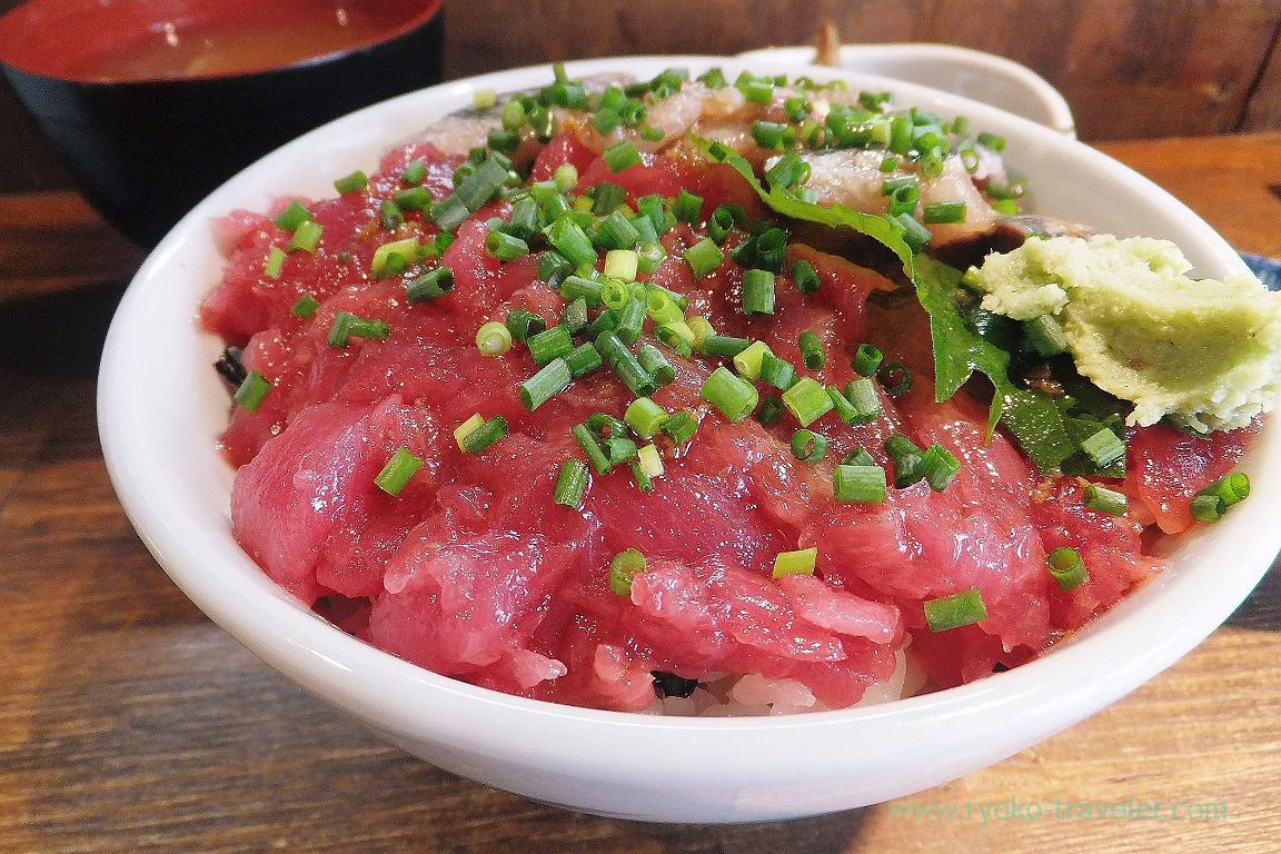 Nakaochi tuna, Hajime Sengyo-ten (Tsukiji)