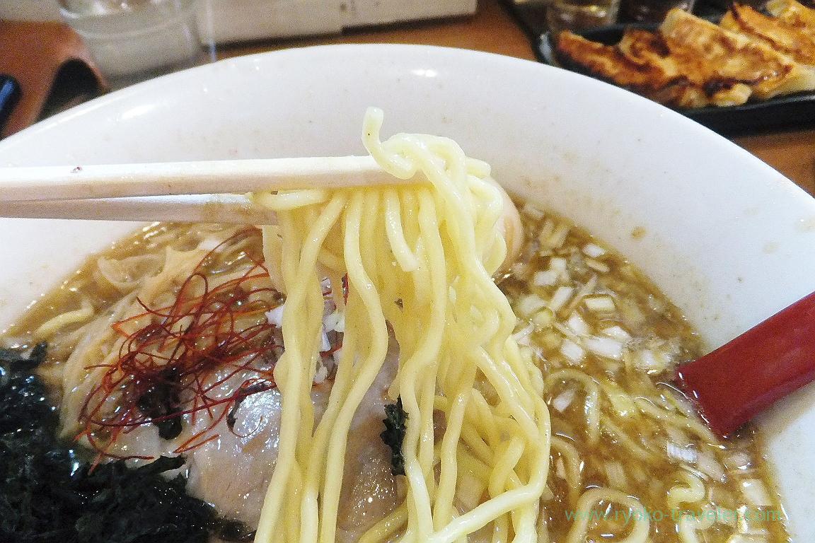 Noodles, Eisho ramen (Tsudanuma)
