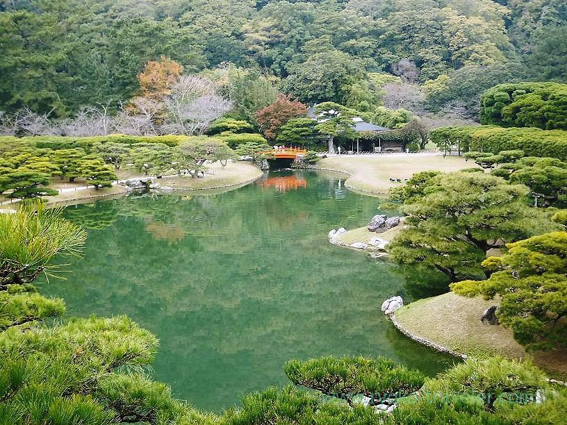 Ritsurin garden3, Ritsurin garden, Takamatsu (Kagawa & Tokushima 2011)