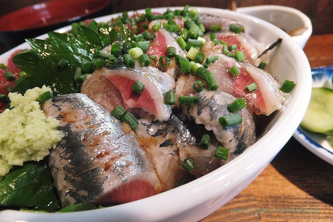 Sardines from Aomori, Hajime Sengyo-ten (Tsukiji)