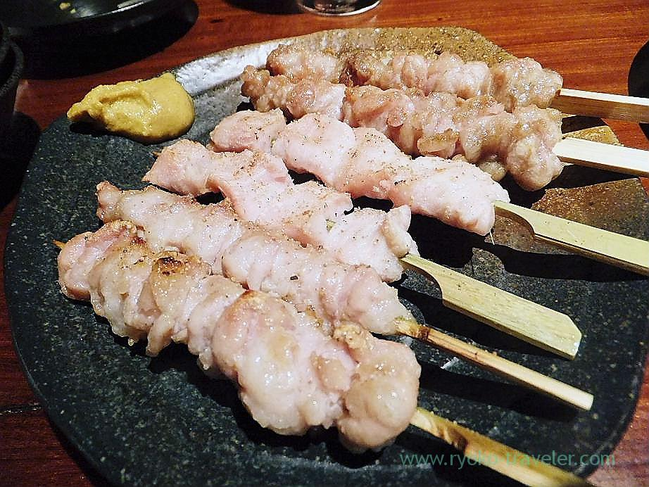 Assorted kushiyaki, Nomiya (Shinjuku Sanchome)