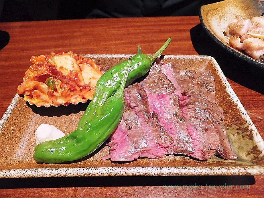 Diaphragm steak, Nomiya (Shinjuku Sanchome)