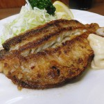 Tsukiji Market : Fried tilefish with butter at Odayasu (小田保)