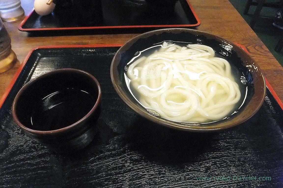 Kamaage udon, Teuchi udon baka ichidai, Hanazono(Takamatsu 2015)