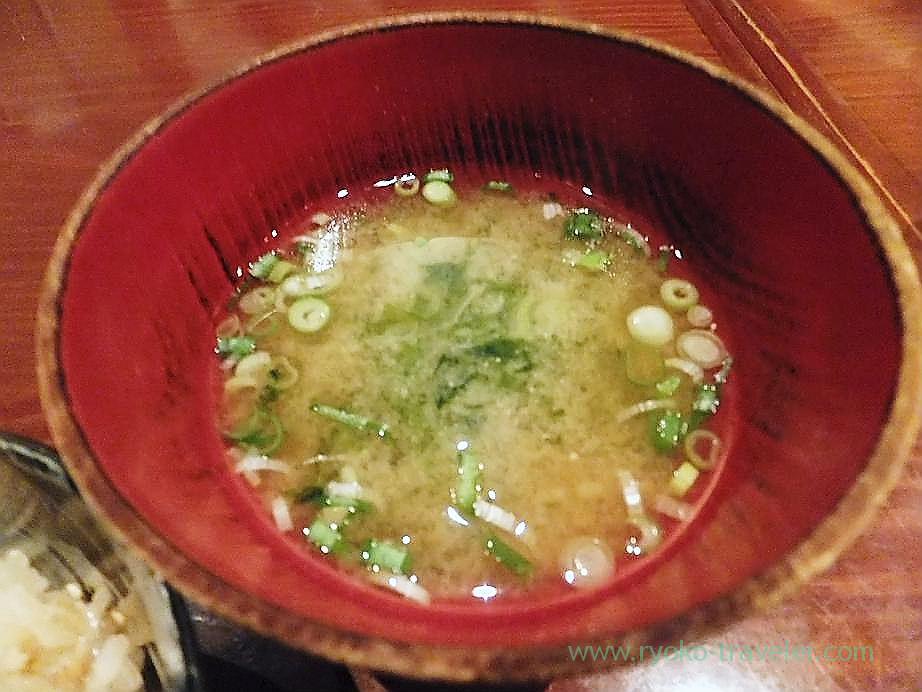 Miso soup, Yamadaya (Tsukiji)