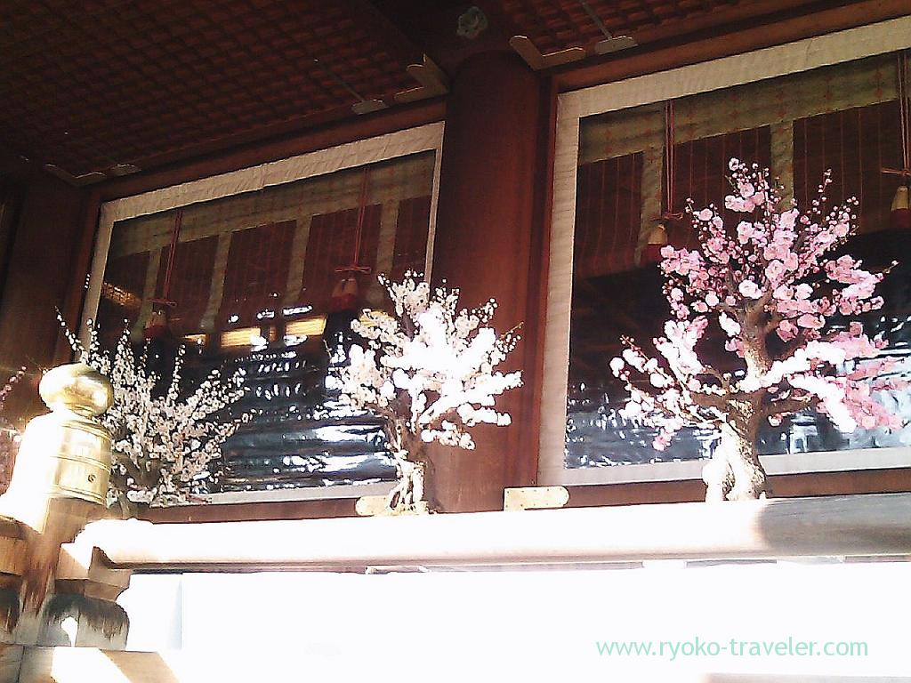 Plum blossoms festival 4, Yushima tenjin shrine (Yushima)