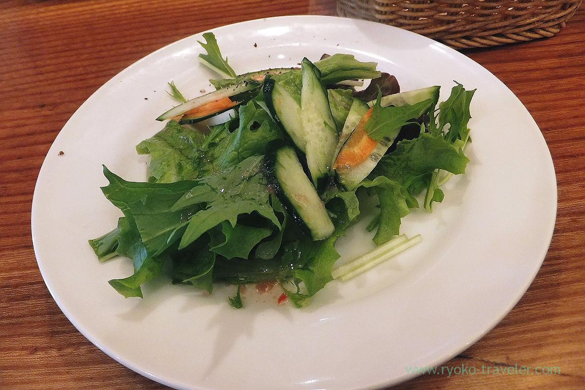 Salad1, Italian Shokudou Nora (Tsukiji)