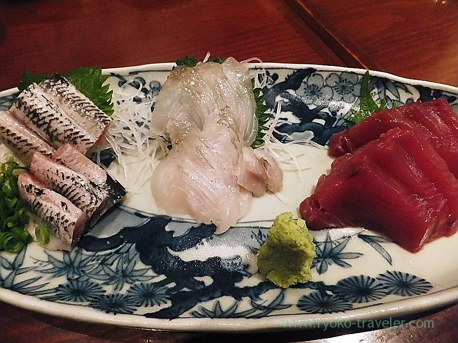 Sashimi, Yamadaya (Tsukiji)