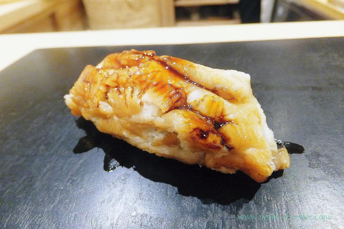 Standard conger eel, Sushi Hashimoto (Shintomicho)