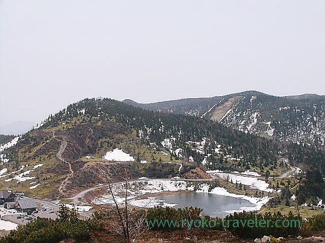 View1, Kusatsu Shiranezan, Kusatsu onsen (Kusatsu & Kawarayu 2011)