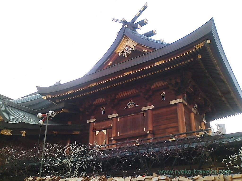 Worship hall, Yushima tenjin shrine (Yushima)