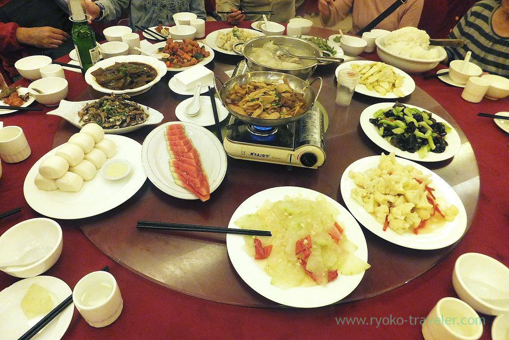 Dinner, Emperor hotel ,Zhangjiajie(Zhangjiajie and feng huang 2015)