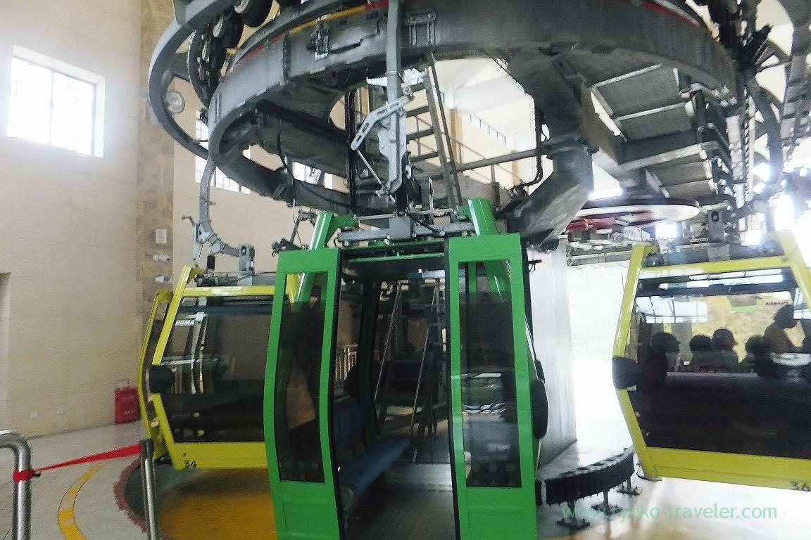Get on !, Cable car to Yuangjiajie ,Zhangjiajie(Zhangjiajie and feng huang 2015)