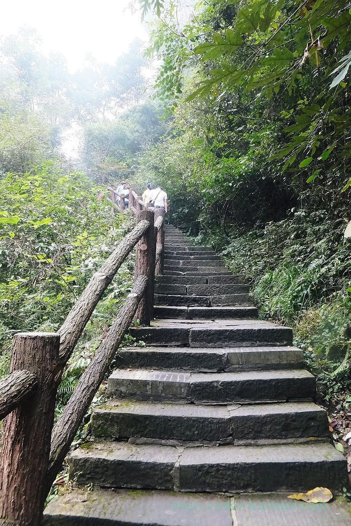 Go upstairs to the lake, Baofeng Lake ,Zhangjiajie(Zhangjiajie and feng huang 2015)