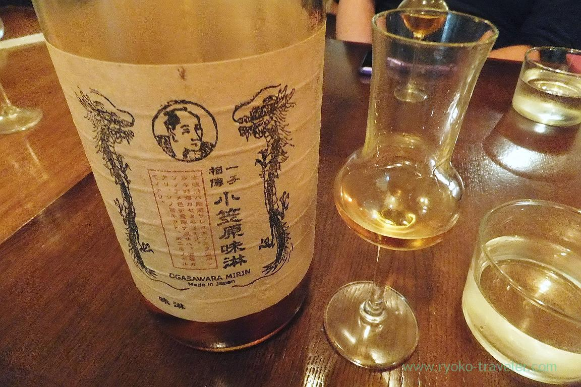 Mirin as dessert wine , il tram (Kiyosumi Shirakawa)