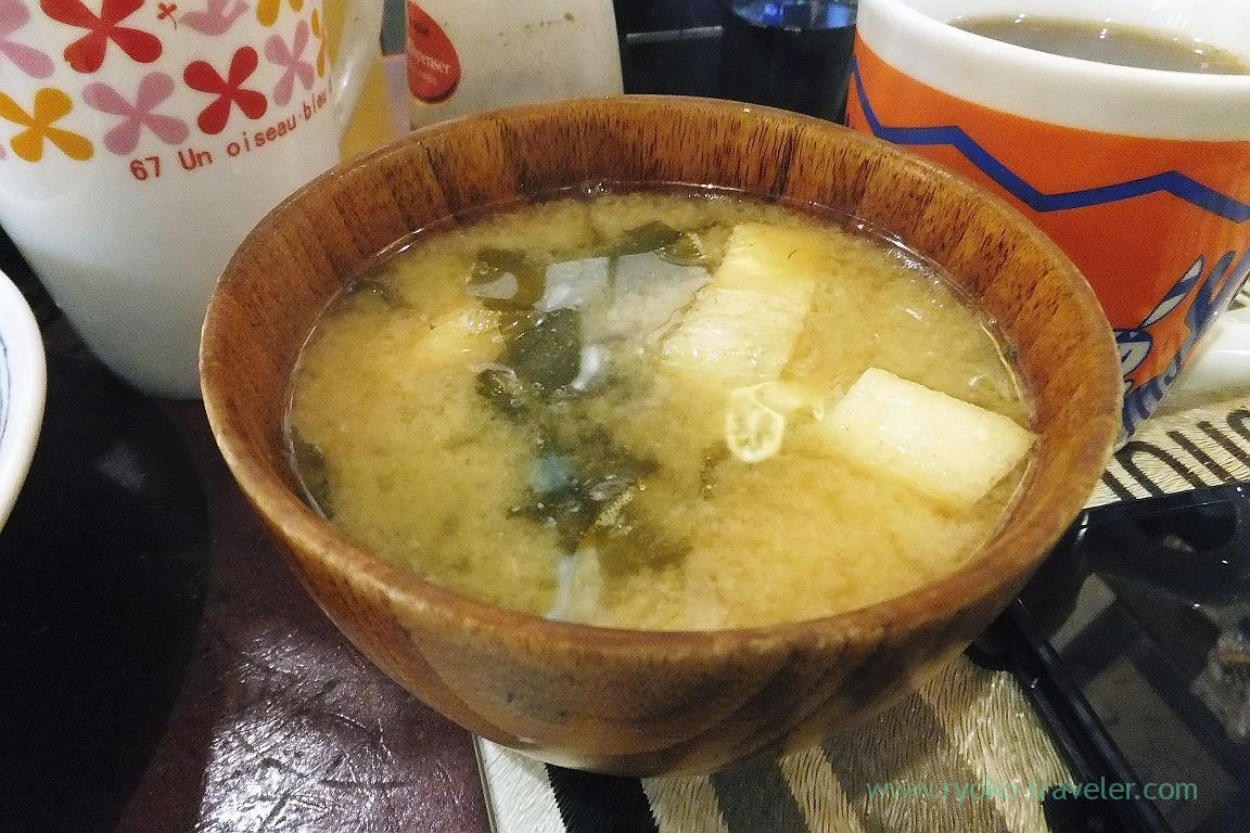 Miso soup,Yonehana (Tsukiji Market)