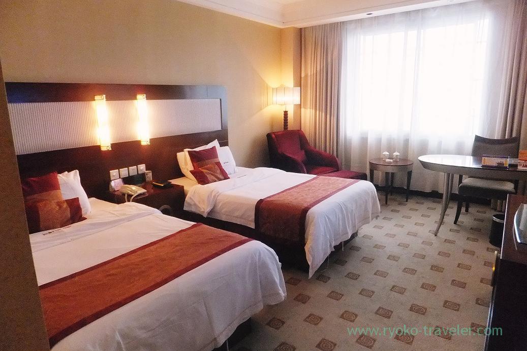 My room, Emperor hotel ,Zhangjiajie(Zhangjiajie and feng huang 2015)