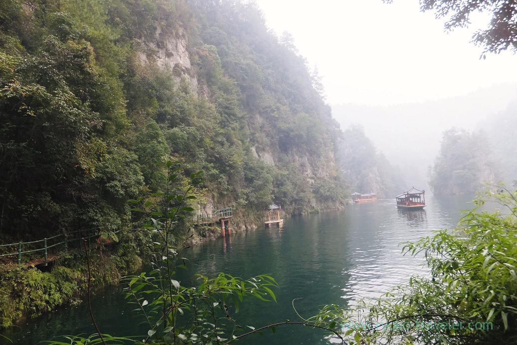 Near the port, Baofeng Lake ,Zhangjiajie(Zhangjiajie and feng huang 2015)