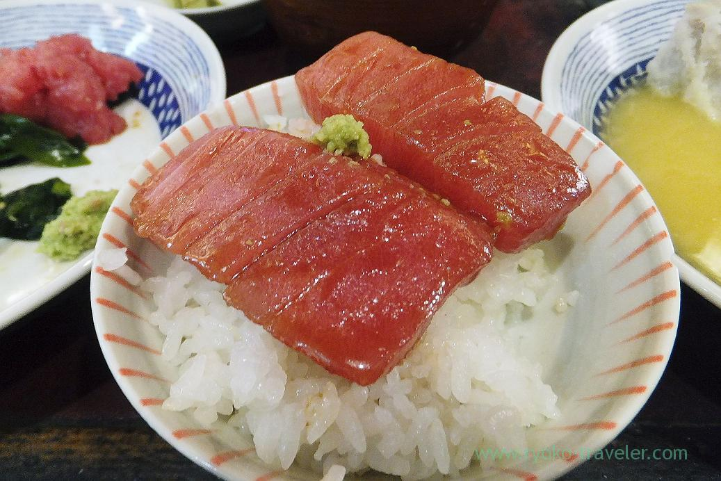 On the rice, Yonehana (Tsukiji Market)