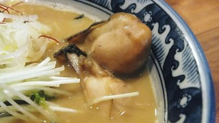 Kinshicho : Ramen shop featuring oysters (佐市)