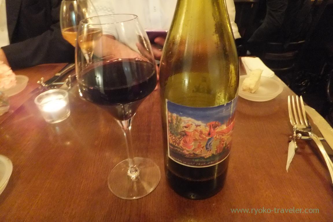 Red wine from Italy, il tram (Kiyosumi Shirakawa)