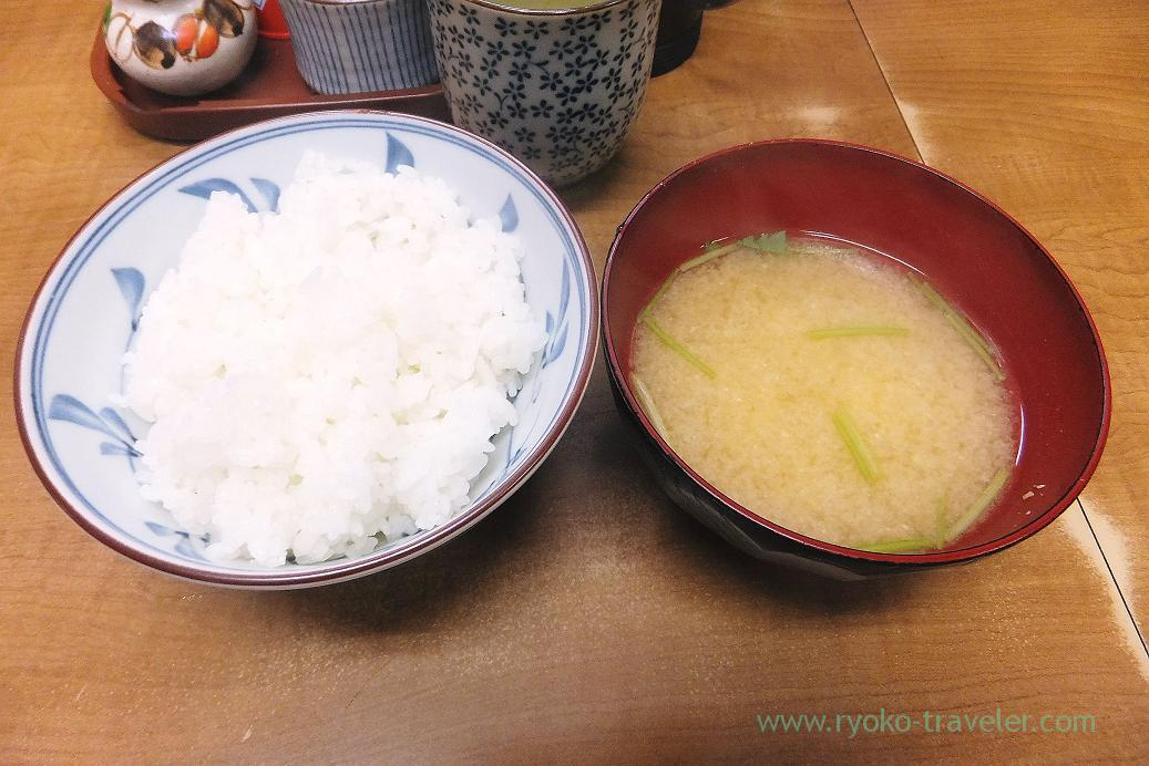 Rice set, Odayasu (Tsukiji Market)