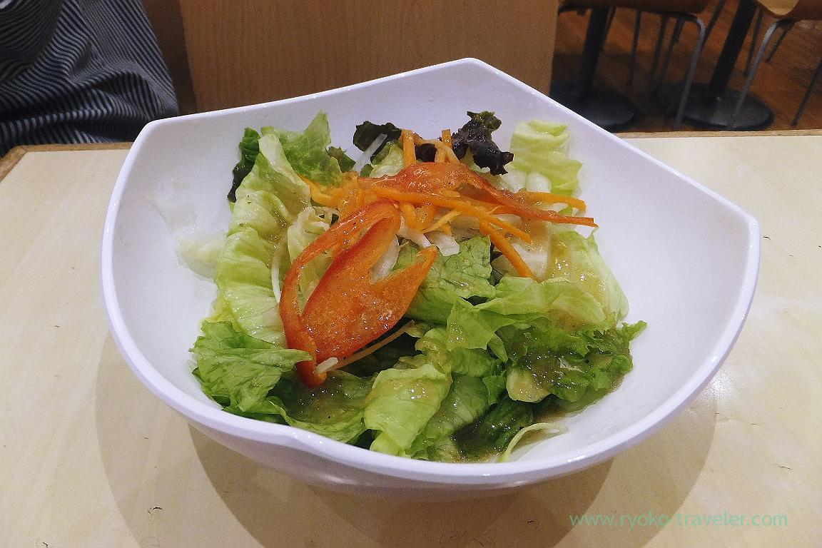 Salad, Ikinari steak Aeon Tsudanuma branch (Tsudanuma)