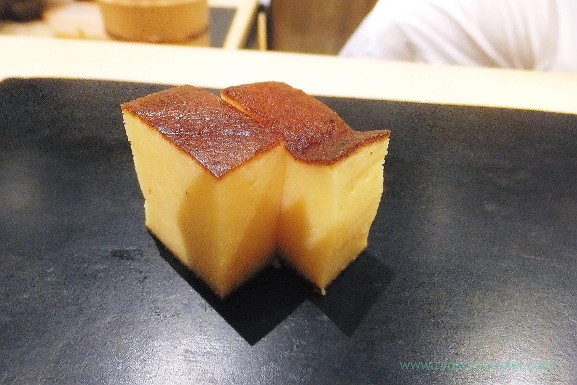 Tamagoyaki, Sushi Hashimoto (Shintomicho)