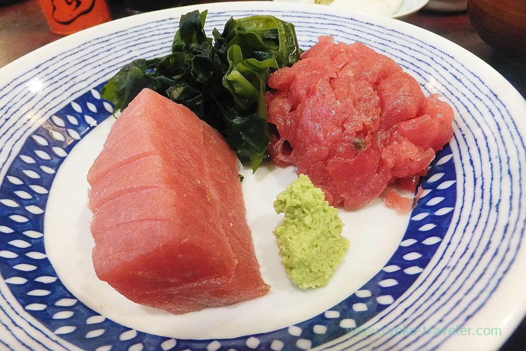 Tuna sashimi, Yonehana (Tsukiji Market)