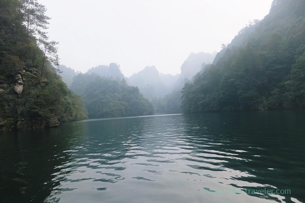 View from the boat 3, Baofeng Lake ,Zhangjiajie(Zhangjiajie and feng huang 2015)