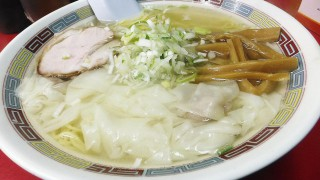 (Moved) Tsukiji Market : Wonton noodles at Yajima