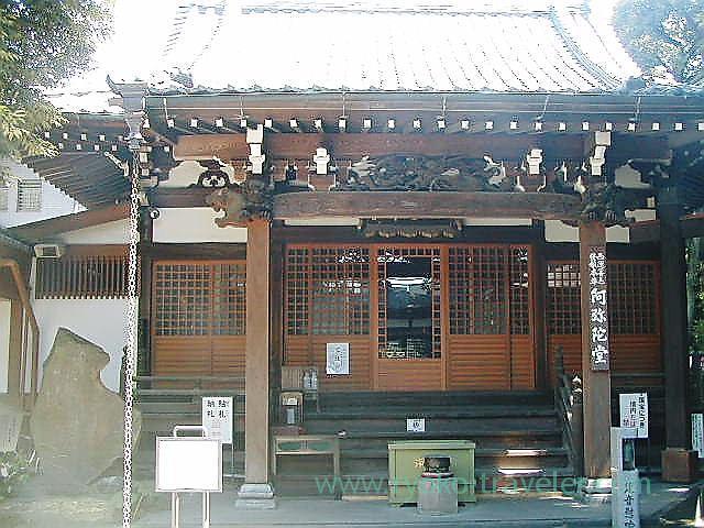 Amida hall, Daienji temple (Meguro)