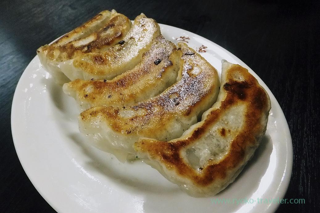 Grilled Gyoza, Yoshiba (Makuhari)