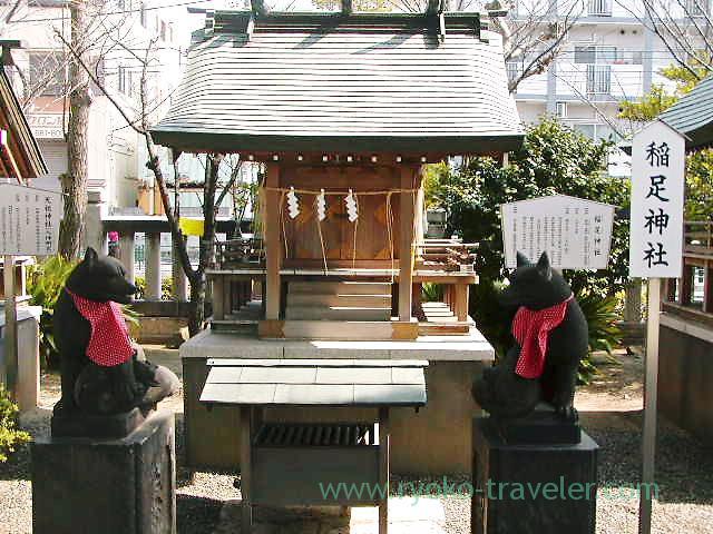 Ineashi Jinja shrine, Katori Jinja shrine (Kameido)