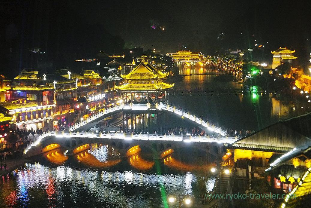 Night view 2, Feng fuang old castle ,Feng fuang(Zhangjiajie and feng huang 2015)