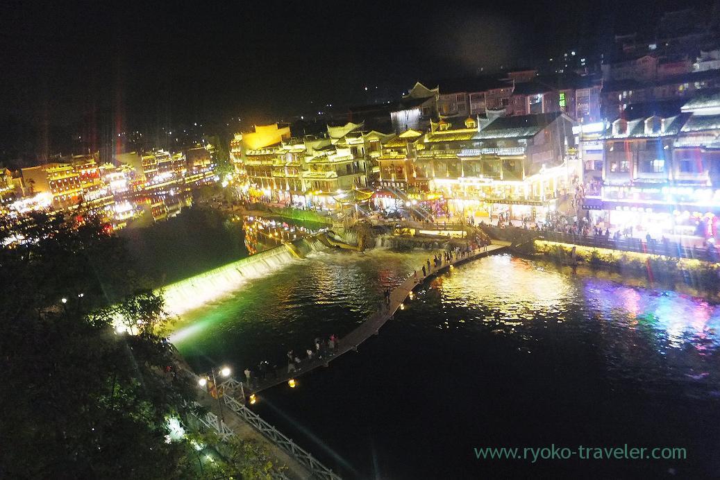 Night view 3, Feng fuang old castle ,Feng fuang(Zhangjiajie and feng huang 2015)