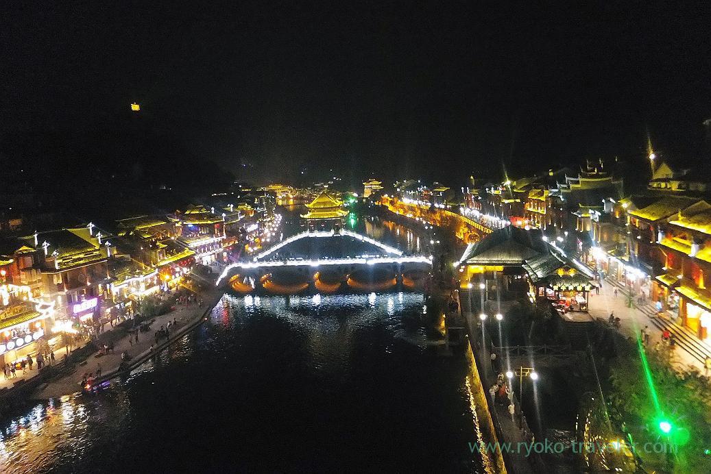 Night view 4, Feng fuang old castle ,Feng fuang(Zhangjiajie and feng huang 2015)
